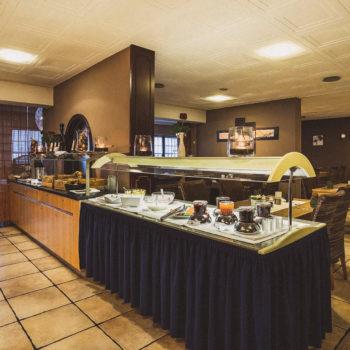 aqualux Wellness und Tagungshotel Bad Salzschlirf Restaurant Buffet